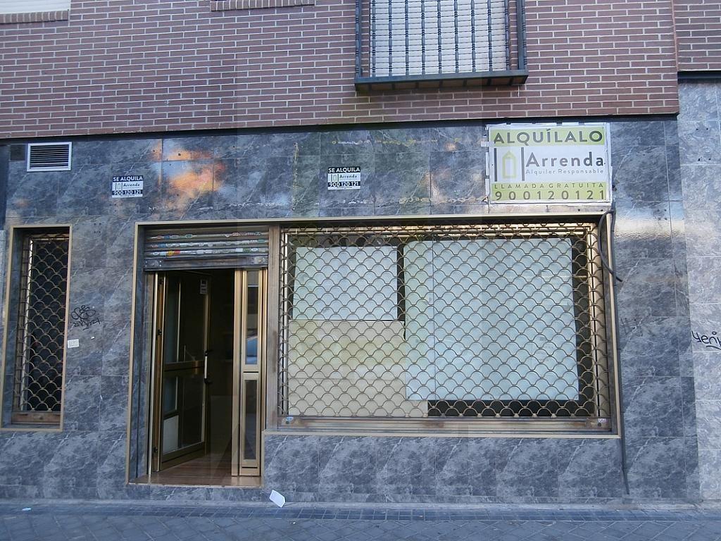 Fachada - Local en alquiler en calle Sevilla, El Naranjo-La Serna en Fuenlabrada - 290336583