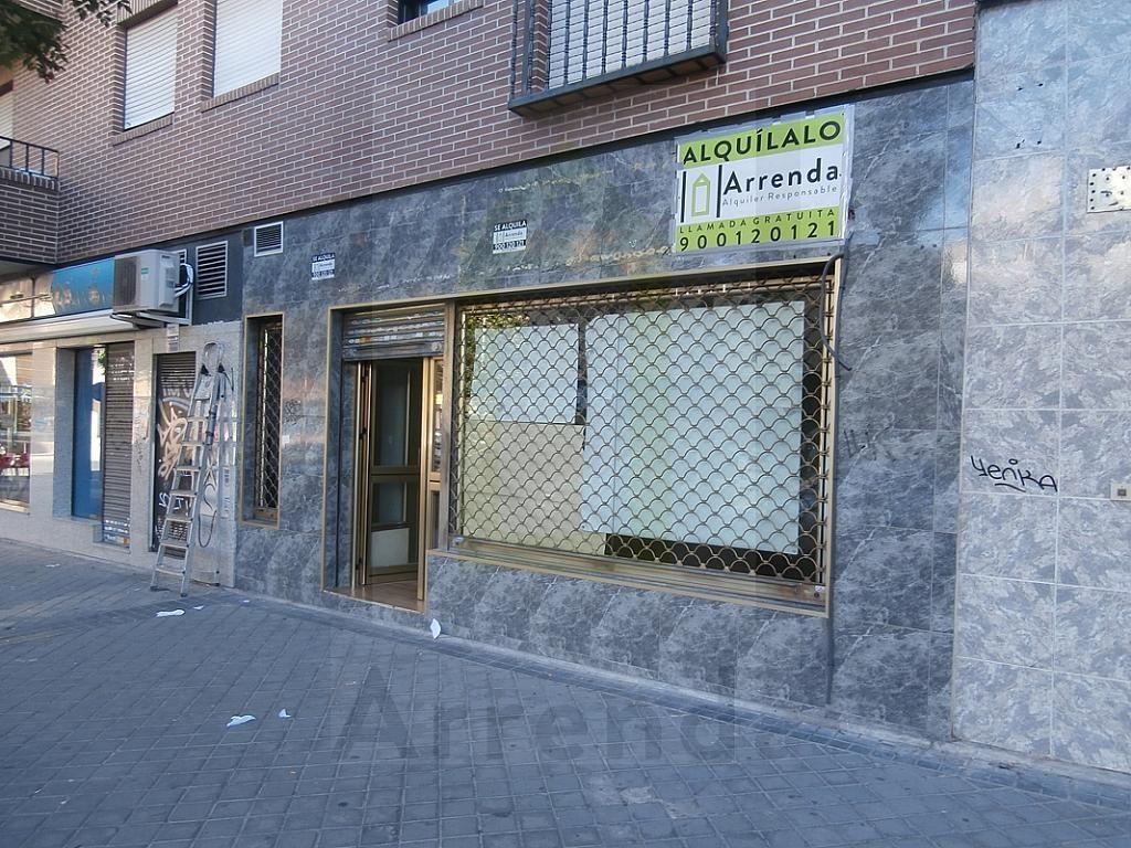 Fachada - Local en alquiler en calle Sevilla, El Naranjo-La Serna en Fuenlabrada - 290336590