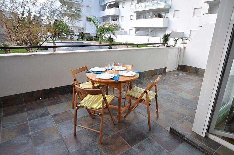 Terraza - Apartamento en venta en Roses - 279515448