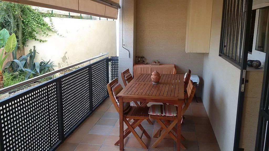 Terraza - Apartamento en venta en calle Orenetes, Clarà en Torredembarra - 318430014