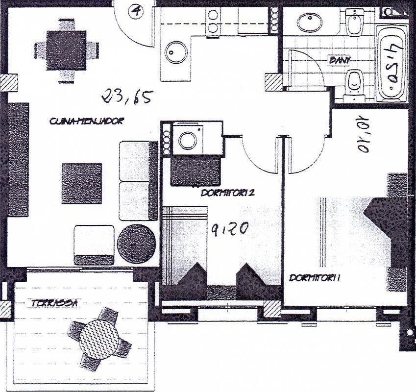 Apartamento en venta en calle Del Sol, Sol cambrils en Cambrils - 327639364