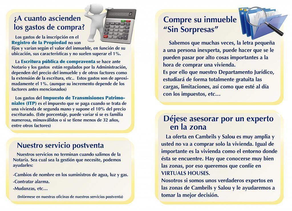 Apartamento en venta en calle Riu Brugent, Els Esquirols en Cambrils - 239519981
