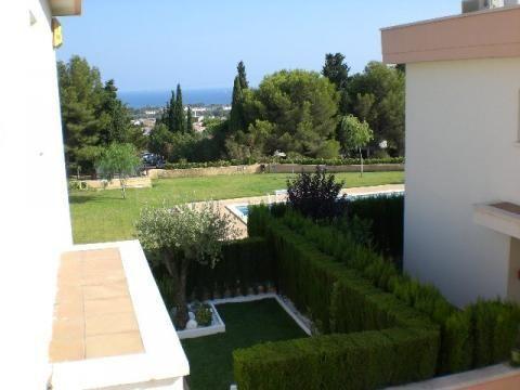 Jardín - Apartamento en venta en calle Francesc Mas Ros, Els masos en Coma-Ruga - 25801848