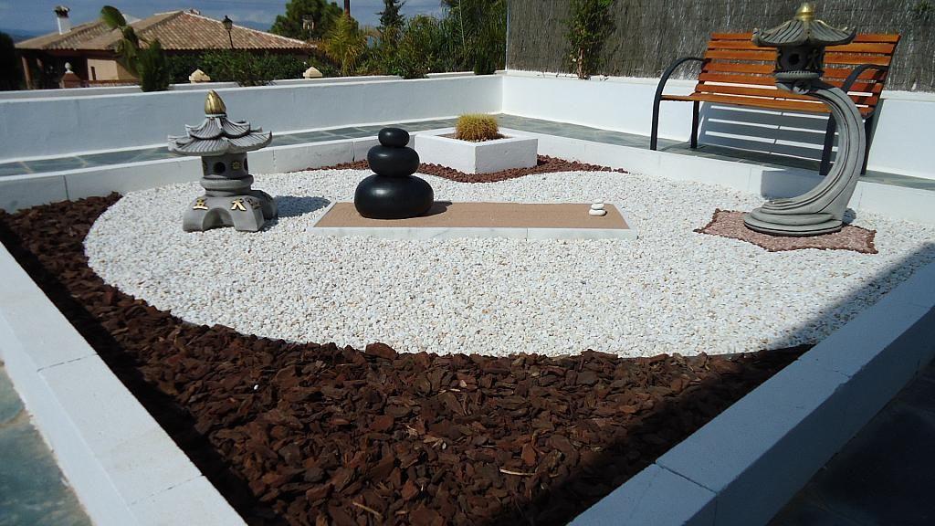 Patio - Casa en alquiler en calle Casares, Alhaurín de la Torre - 235798730