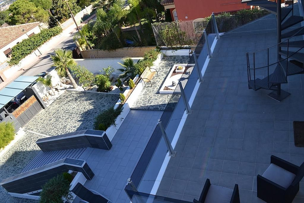 Terraza - Casa en alquiler en calle Casares, Alhaurín de la Torre - 235798794