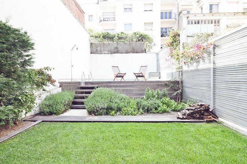 Jardín - Dúplex en alquiler de temporada en calle Prats de Mollo, Sant Gervasi – Galvany en Barcelona - 84234522