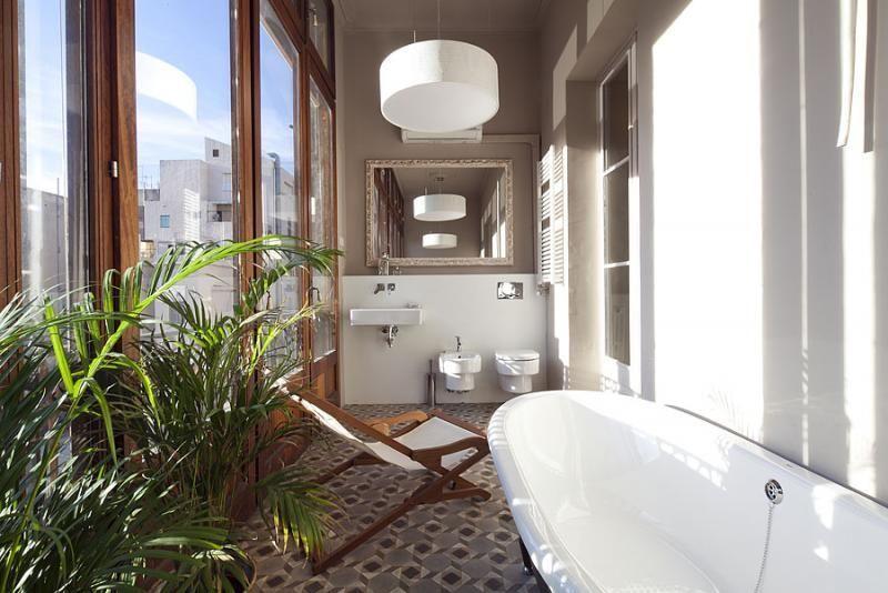 Baño - Apartamento en alquiler de temporada en rambla Catalunya, Eixample dreta en Barcelona - 84382206