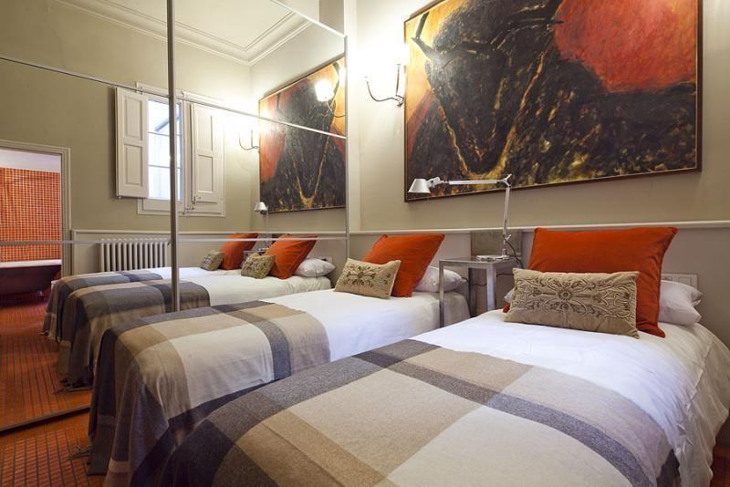 Dormitorio - Apartamento en alquiler de temporada en rambla Catalunya, Eixample dreta en Barcelona - 84382210
