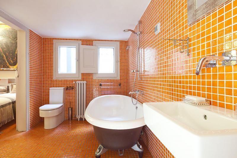 Baño - Apartamento en alquiler de temporada en rambla Catalunya, Eixample dreta en Barcelona - 84382212