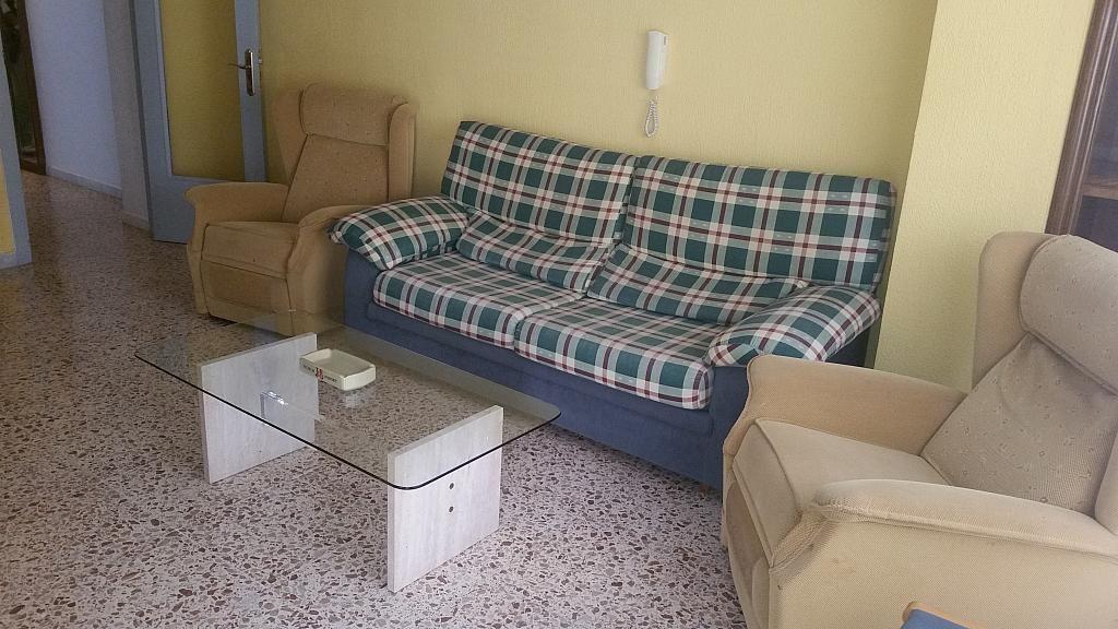 Salón - Piso en alquiler en calle Calar Alto, Colonia Los Angeles en Almería - 197277399