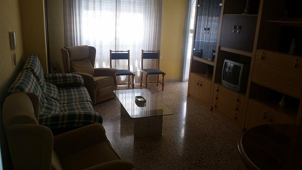 Salón - Piso en alquiler en calle Calar Alto, Colonia Los Angeles en Almería - 197277407