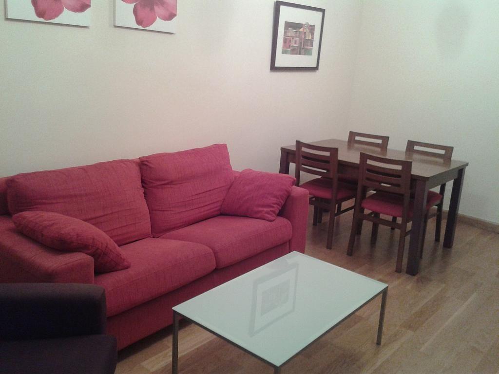 Salón - Apartamento en alquiler en calle Nuestra Señora de Montserrat, Pescaderia-La Almedina en Almería - 145779945