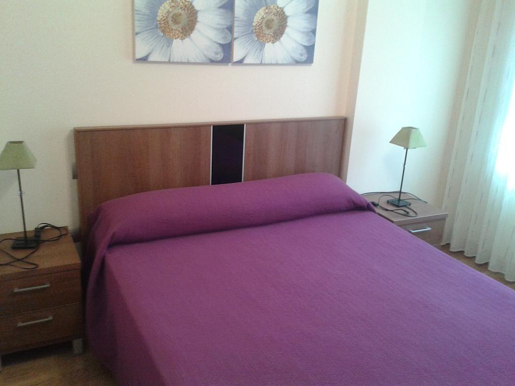 Dormitorio - Apartamento en alquiler en calle Nuestra Señora de Montserrat, Pescaderia-La Almedina en Almería - 145780033