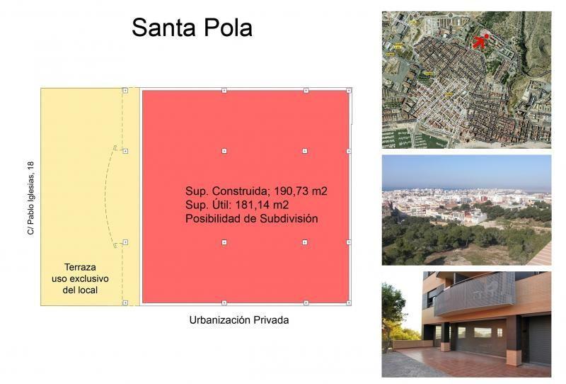 Local comercial en alquiler en calle Pablo Iglesias, Santa Pola - 113377738