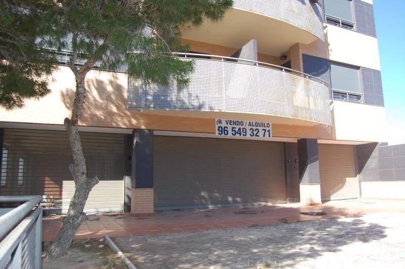 Fachada - Local comercial en alquiler en calle Pablo Iglesias, Santa Pola - 113377741