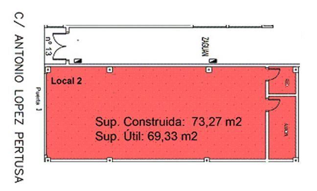 Local comercial en alquiler en calle Antonio Lopez Pertusa, Formentera del Segura - 116381009