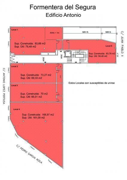 Local comercial en alquiler en calle Antonio Lopez Pertusa, Formentera del Segura - 116381011