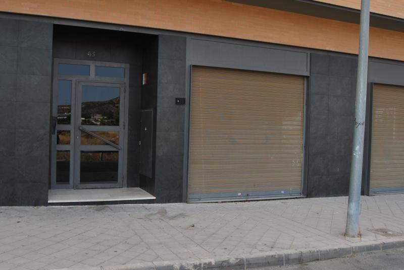 Fachada - Local comercial en alquiler en calle Trafalgar, Aspe - 116579654
