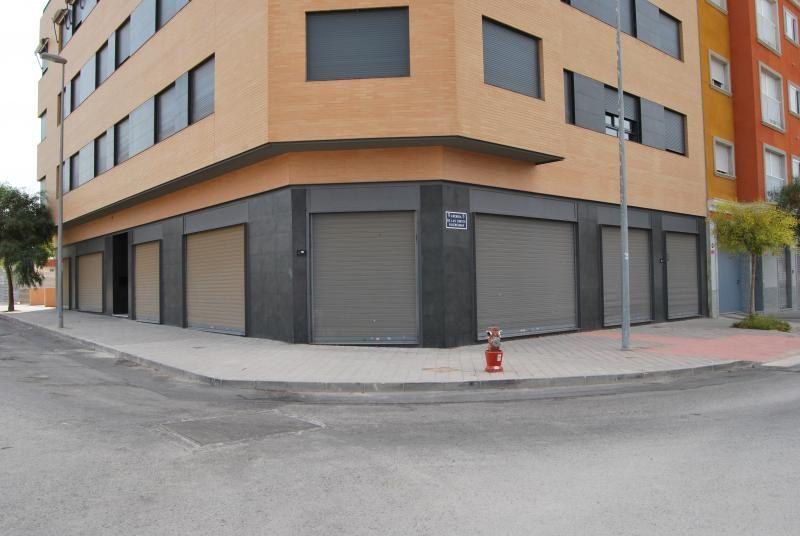 Fachada - Local comercial en alquiler en calle Trafalgar, Aspe - 116579663