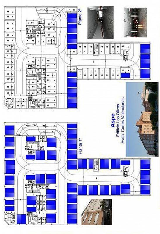 Plano - Garaje en alquiler en calle Cortes Valencianas, Aspe - 127218723