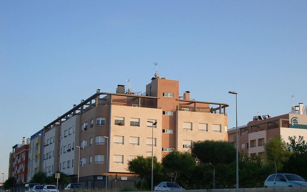 Fachada - Garaje en alquiler en calle Cortes Valencianas, Aspe - 127218744