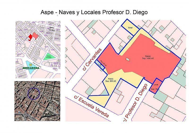 Local comercial en alquiler en calle Profesor D Diego, Aspe - 130078961