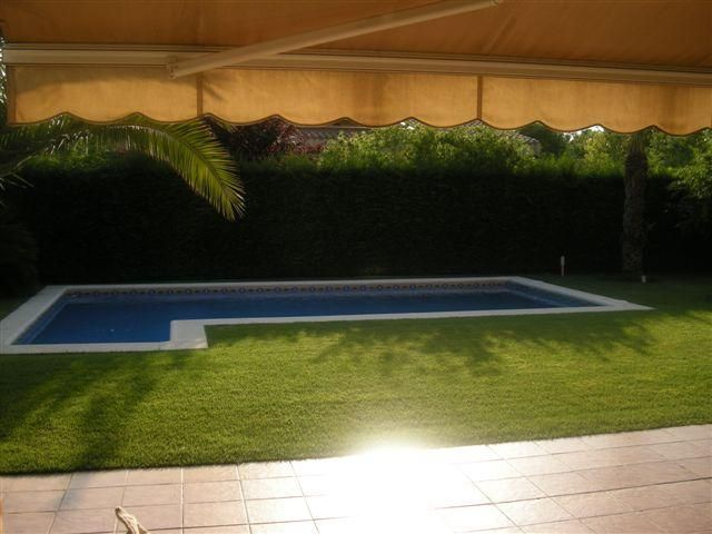 Jardín - Chalet en alquiler en calle Bernat Desclot, Sant Cugat del Vallès - 61470612