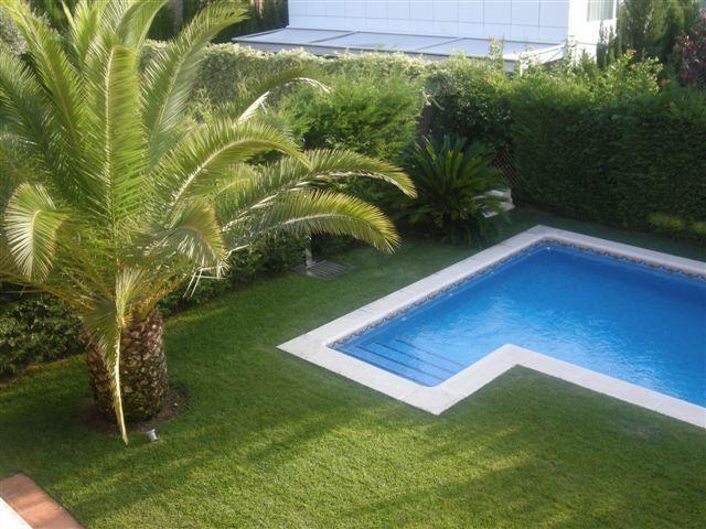 Jardín - Chalet en alquiler en calle Bernat Desclot, Sant Cugat del Vallès - 61470739