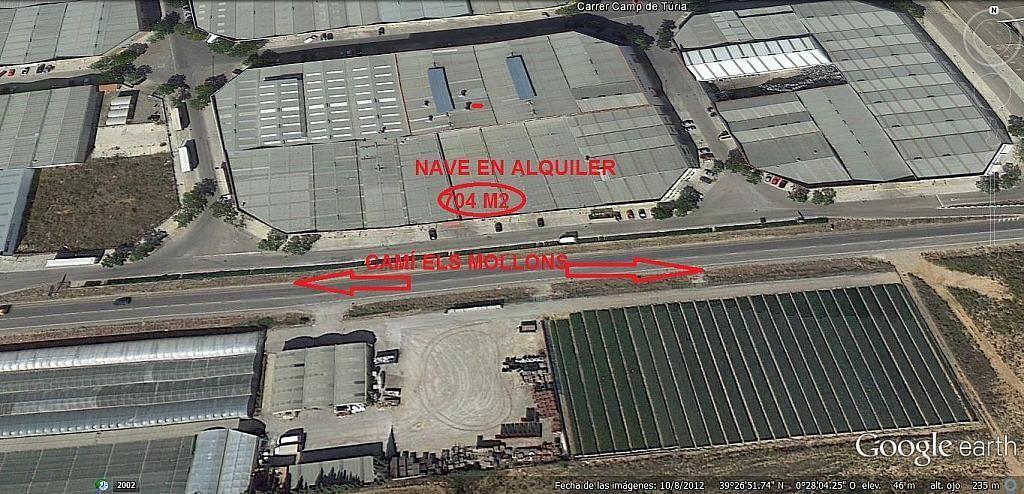 Nave en alquiler en calle Camí Dels Mollons, Alaquàs - 269759899