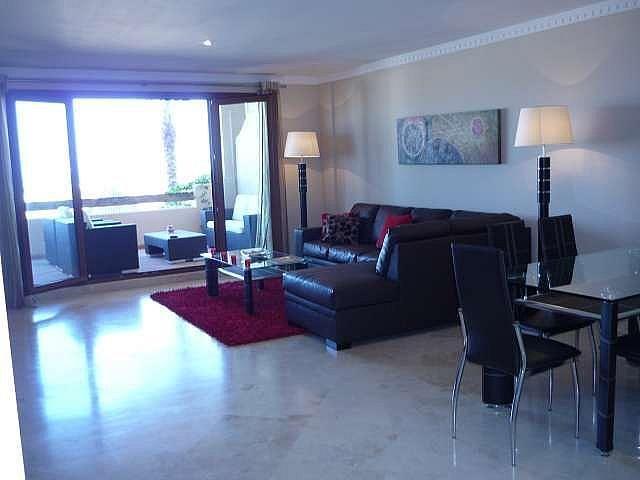 Azotea - Piso en alquiler en urbanización El Campanario, Estepona - 330444064
