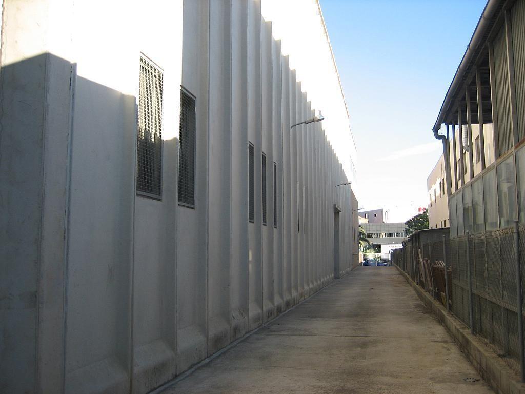 Patio - Nave industrial en alquiler en Sant Vicenç dels Horts - 158481250
