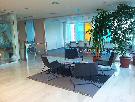 Vestíbulo - Oficina en alquiler en Badalona - 203281235