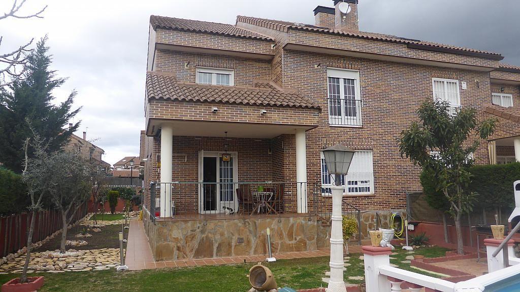 Jardín - Casa pareada en alquiler opción compra en calle Antares, Griñón - 305630624