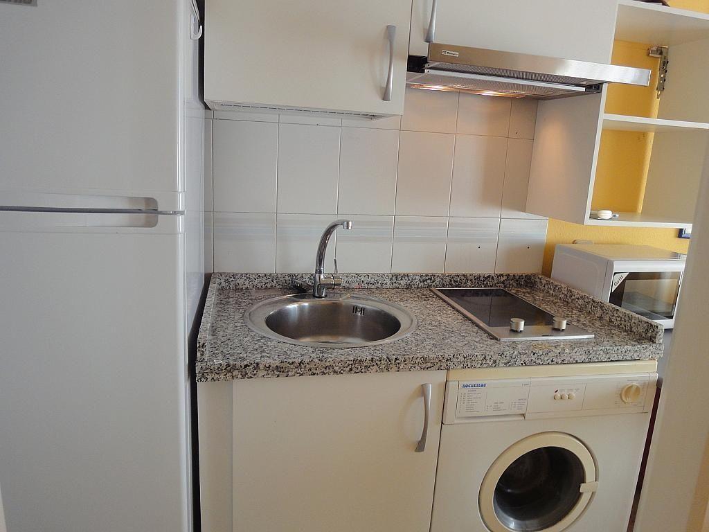 Cocina - Estudio en alquiler en calle Alcalde Luis de Uruñuelas, Av. Ciencias-Emilio Lemos en Sevilla - 153973127