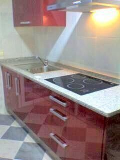 Cocina - Piso en alquiler en calle Ciencias, Av. Ciencias-Emilio Lemos en Sevilla - 216686841