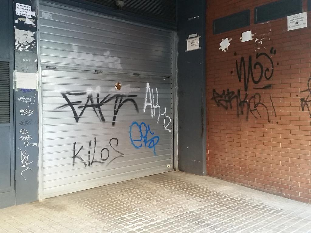 Garaje en alquiler en calle Josep Sangenís, La Teixonera en Barcelona - 278188631