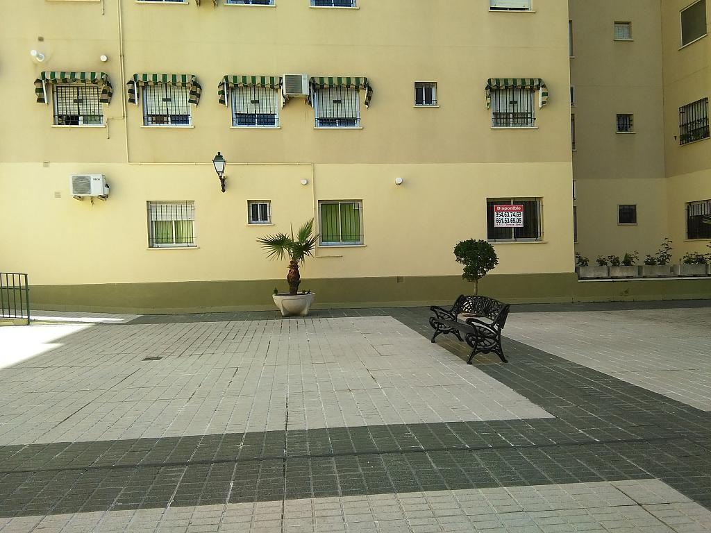 Patio delantero - Piso en alquiler en La Oliva en Sevilla - 183191281