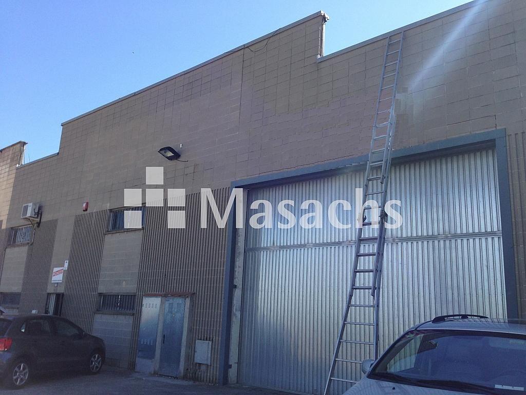 Ref. 7593 exterior - Nave industrial en alquiler en Sant Quirze del Vallès - 277941859