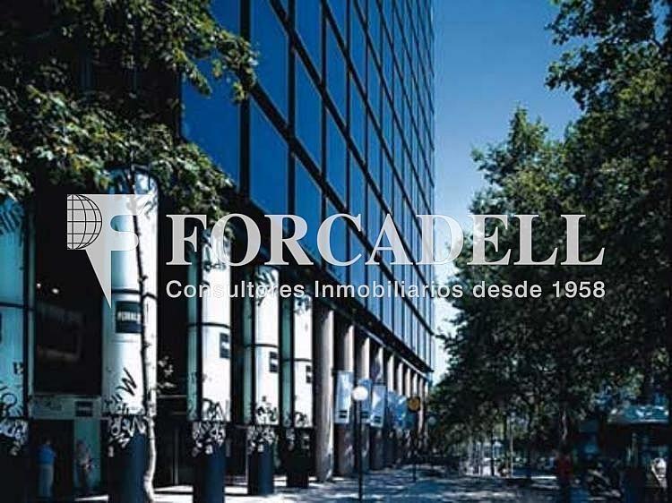 DETALLE-FACHADA - Oficina en alquiler en calle Diagonal El Dau, Les corts en Barcelona - 263456643