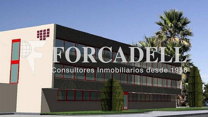 Façana - Oficina en alquiler en calle Cantabria, Sant Boi de Llobregat - 329736118