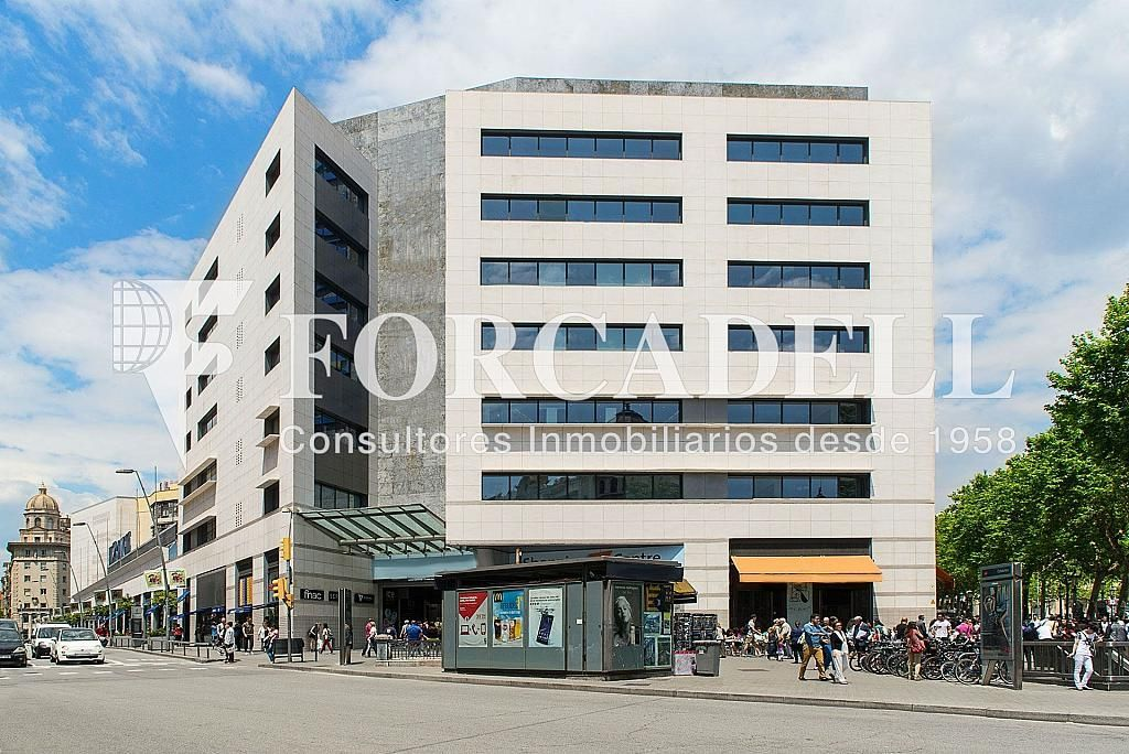Façana 1 - Oficina en alquiler en calle Catalunya, Eixample dreta en Barcelona - 272293246