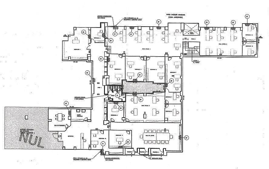 Planol2 - Oficina en alquiler en calle Sardenya, Gràcia Nova en Barcelona - 263452482