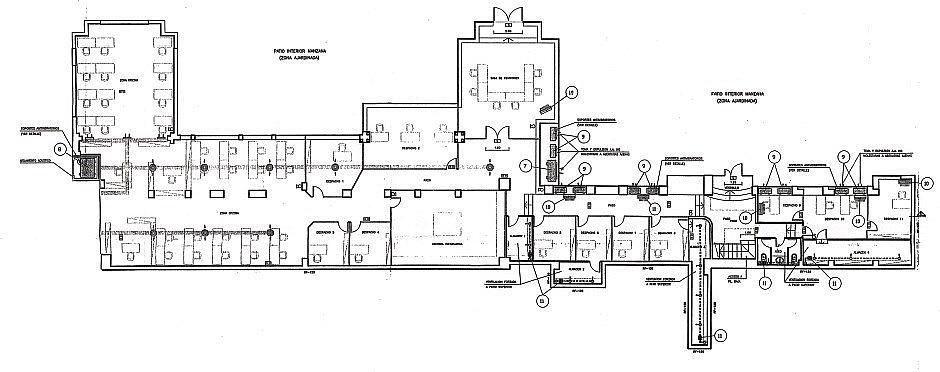 Planol1 - Oficina en alquiler en Gràcia Nova en Barcelona - 261859285