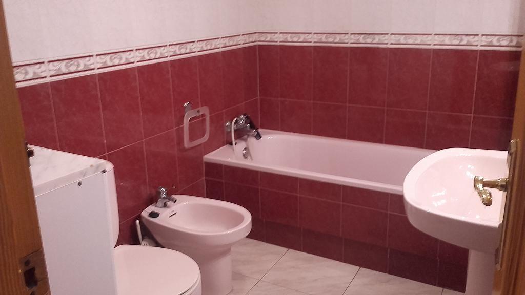 Baño - Piso en alquiler opción compra en calle Salitre, Algezares - 279766651