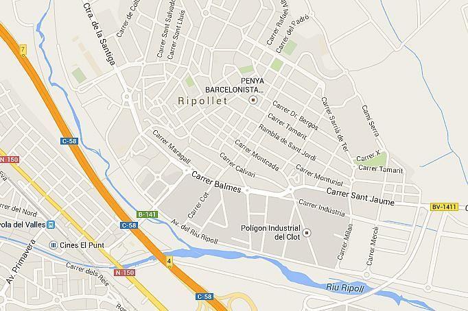 Plano - Nave industrial en alquiler en polígono Cadesbank, Zona Industrial en Ripollet - 188504942