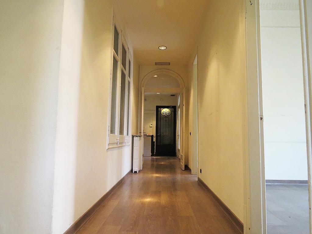 Pasillo - Oficina en alquiler en calle Diagonal, Eixample esquerra en Barcelona - 267626545