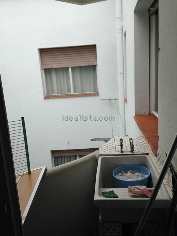 Patio trasero - Piso en alquiler en calle Portugal, Ourense - 152058247