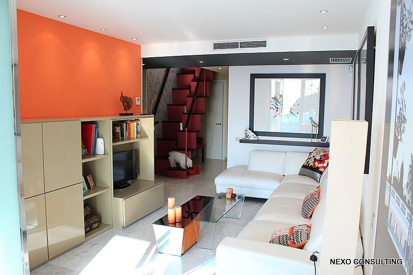 Salón - Apartamento en venta en calle Lobregat, Els Esquirols en Cambrils - 263569375