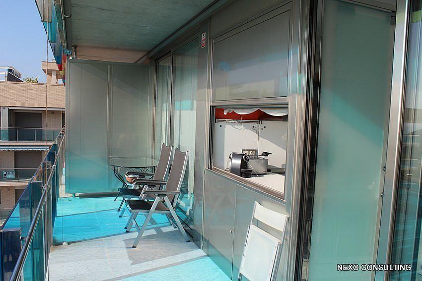Terraza - Apartamento en venta en calle Lobregat, Els Esquirols en Cambrils - 263569406