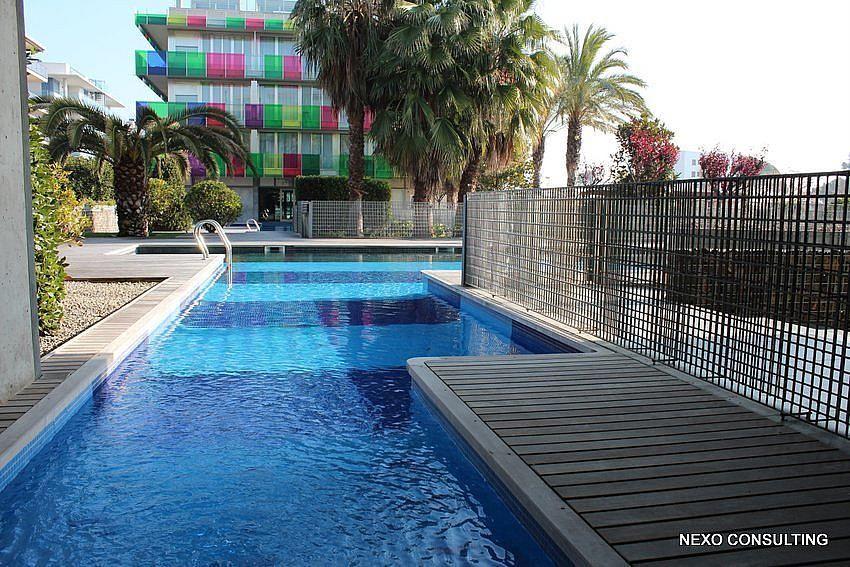 Piscina - Apartamento en venta en calle Lobregat, Els Esquirols en Cambrils - 263569501